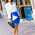 Three Ways to Style a White Leather Jacket for Spring