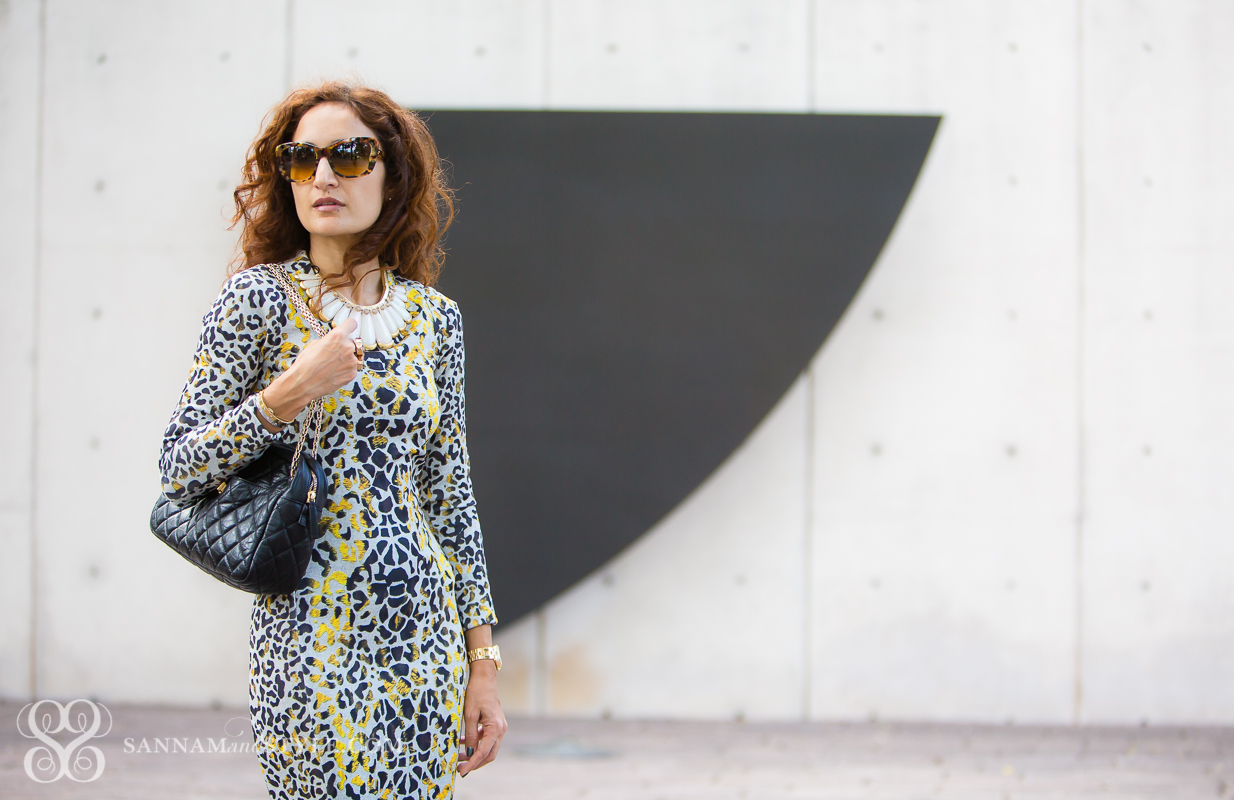 ladylike trend, leopard dress, body con dress, first date outfit