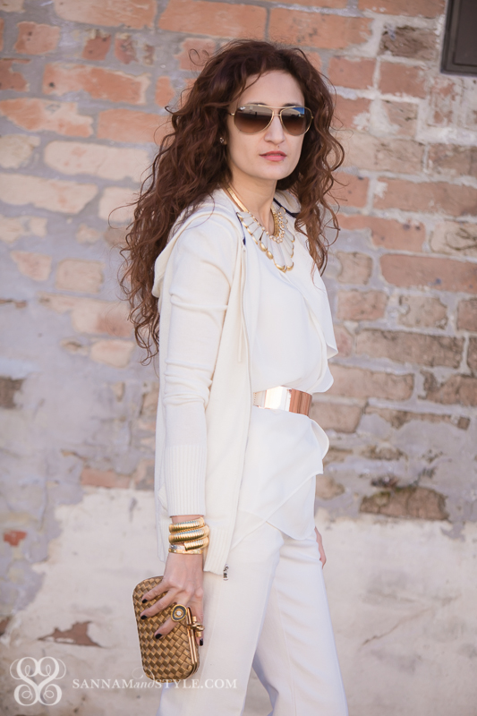 290841d64b6c winter white styling, street style winter white, winter white trend, date  night outfit