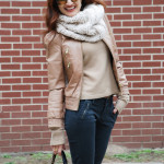 Casual Style – Bomber Leather & The Snood