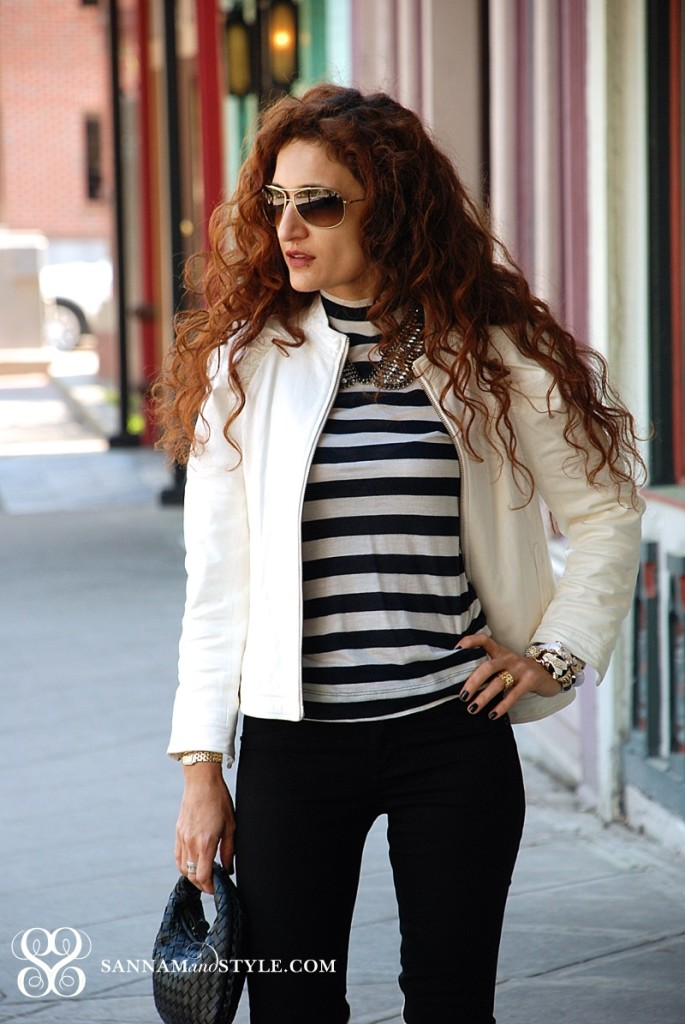 zara striped top how to wear stripes spring casual style trends houston fashion blogger