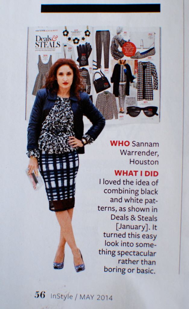 Reader Look of The Day Inspired by InStyle Deals and Steals Black and White Outfit Ideas InStyle