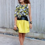 Abstract Print Dress Doing Double Duty As A Top