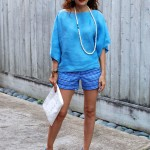 Casual Chic Shades of Blue