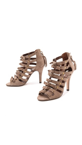 bootie taupe shoe tuesdayshoesday twelfth street by cynthia vincent sadie suede sandals suede shoes