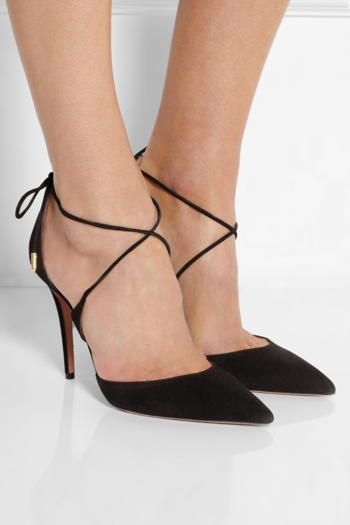 tuesdayshoesday suede pumps aquazzura matilde suede pumps classic black pump