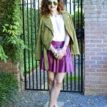 Grown Up Girly – Fuchsia & Pea Green