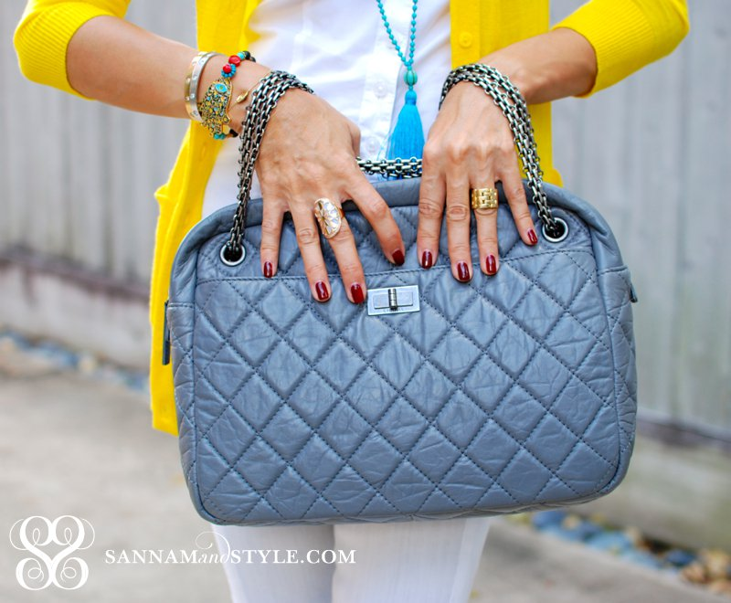 chanel reissue bag gray quilted bag chic chanel bag chanel camera bag neutral bag houston fashion blogger