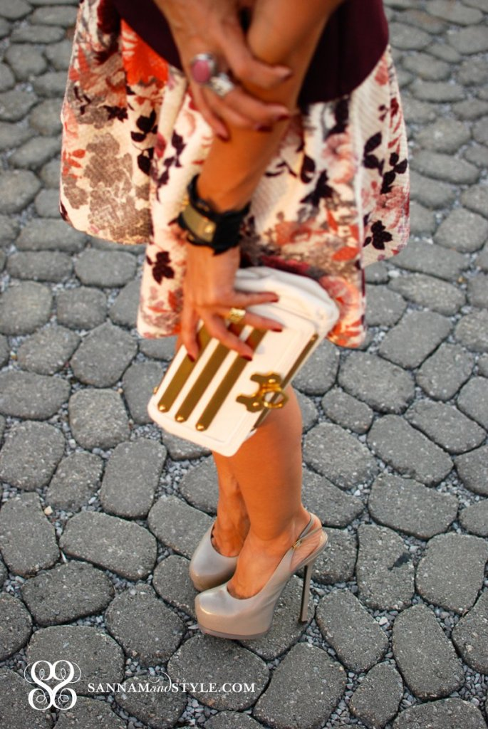 zac posen gold clutch chic accessories fall trend saint laurent tribtoo shoes taylor tessier cuff saint laurent arty ring