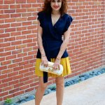 Color Blocking – Marigold Dreams via Banana Republic