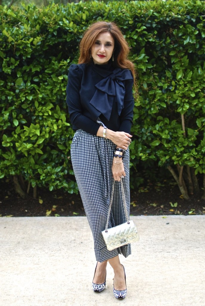 gingham trend 2015 fashion houston fashion blogger zara culottes how to wear culottes