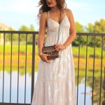 Luxe for Less: Summer Maxi & Gold Sandals