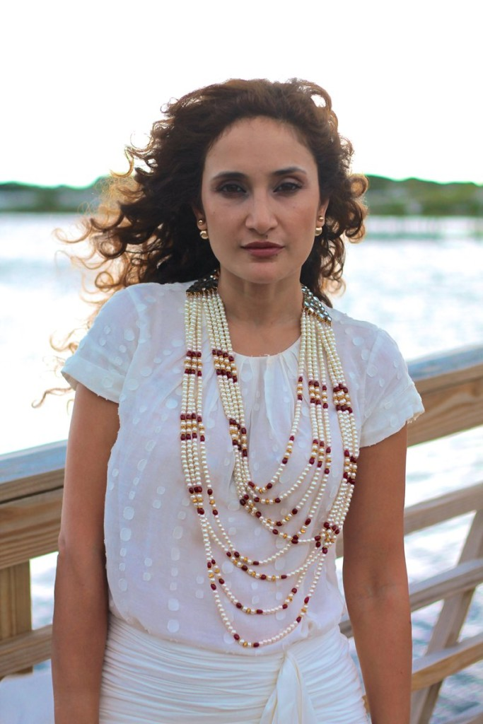 marissa webb feminine skirt pearl necklace red celine box bag chic beach style white on white outfit beach style 30a rosemary beach what to wear to the beach gold gladiator sandals intermix sale