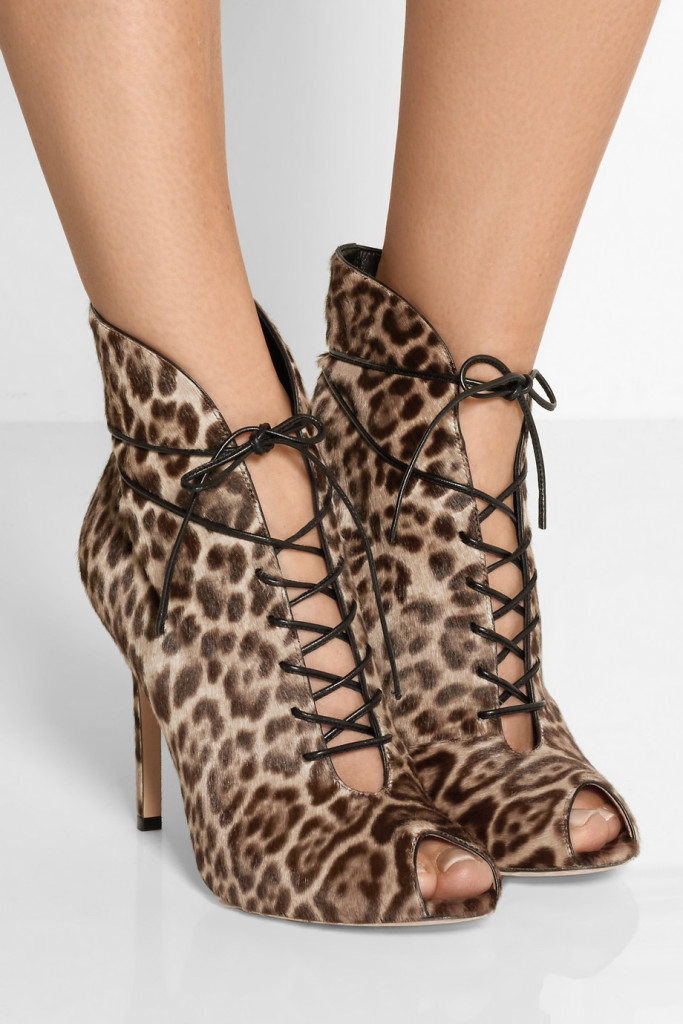 leopard booties gianvito rossi lace up leopard booties sexy shoes tuesdayshoesday shoesday