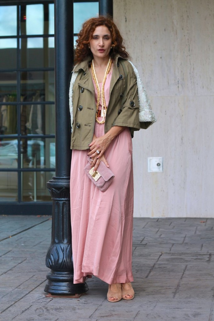 army green jacket sequin sleeve jacket anthropologie hei hei anarok pink ands green outfit chic dress first date outfit feminine ands masculine mix