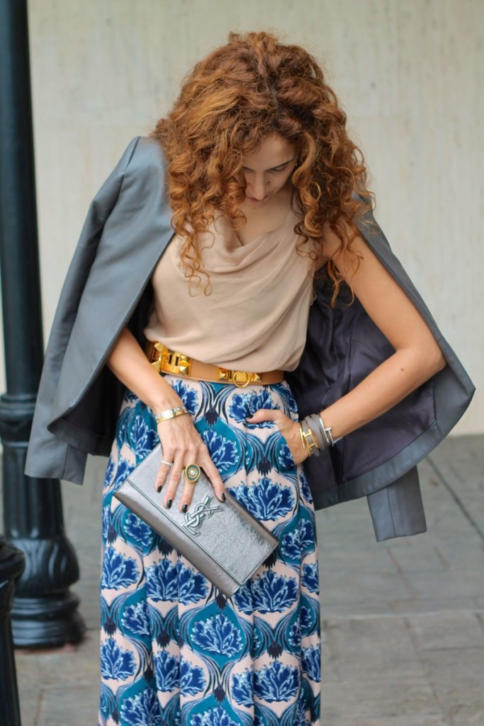 Palazzo Pants wide legged printed pants shopbop sale chic casual wear houston fashion blogger how to style palazzo pants petite style