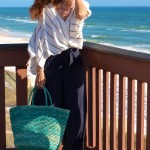 Resort Chic Blues:  Palazzo Pants