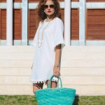Spring Thoughts:  White Tunic Dress
