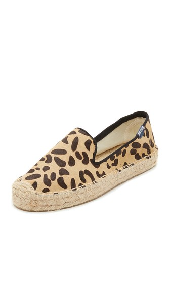 leopard espadrilles chic summer flats pony hair flays for summer affordable flats fun flats for summer