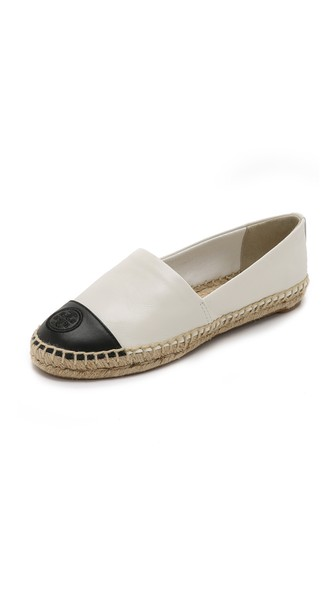 colorblock espadrille chic summer flats chanel like espadrilles affordable black and white chanel like shoes chic summer espadrilles espadrilles trend