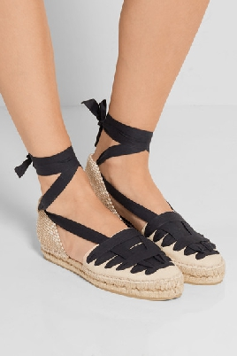 black and white espadrilles cool shoes flats